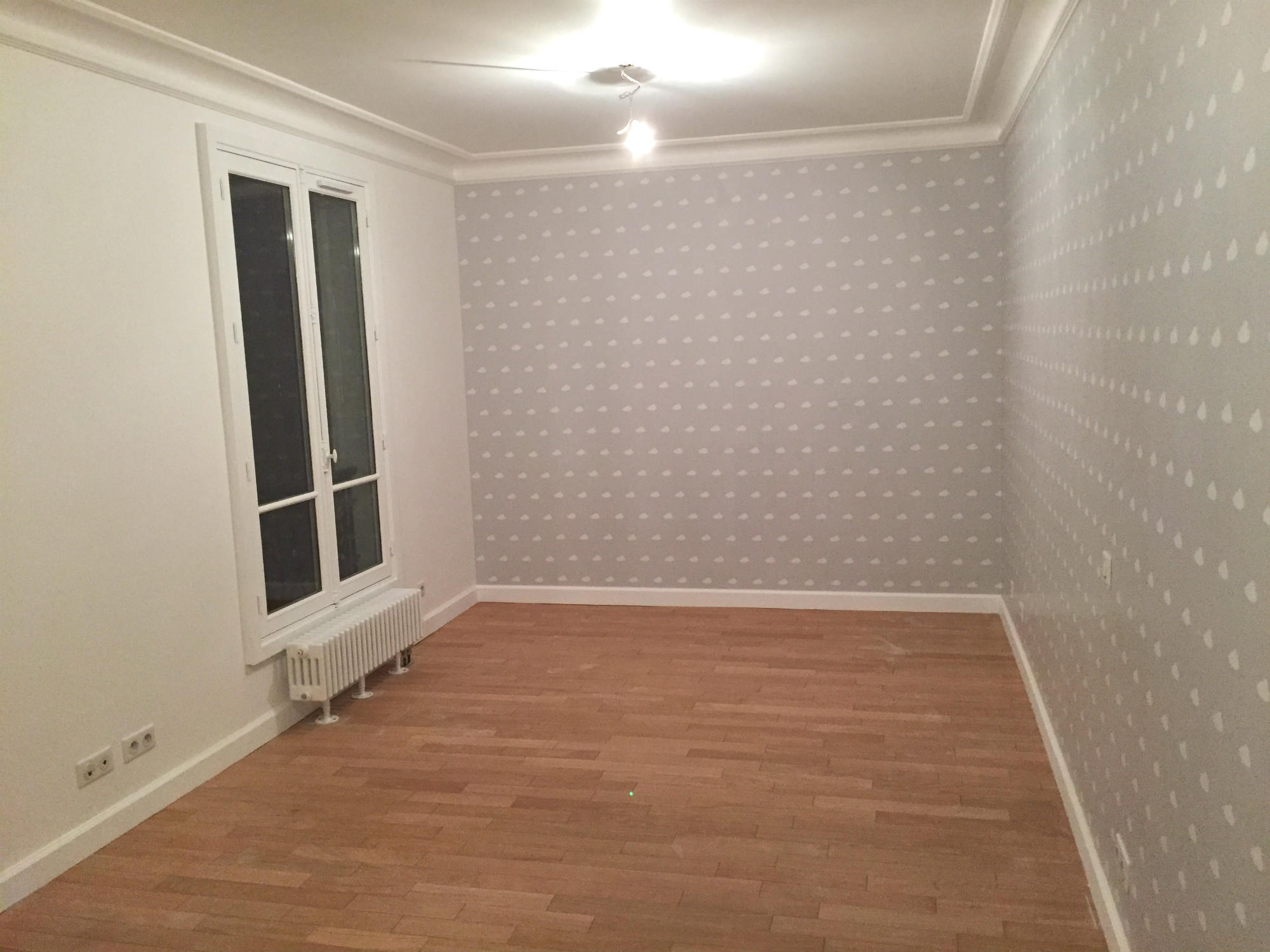 2016 travaux renovation appartement transformation F2 en F3 Paris rue Damremont_Eolh btp france 8